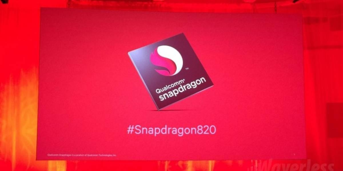 Snapdragon 820 logra puntaje récord en pruebas de AnTuTu