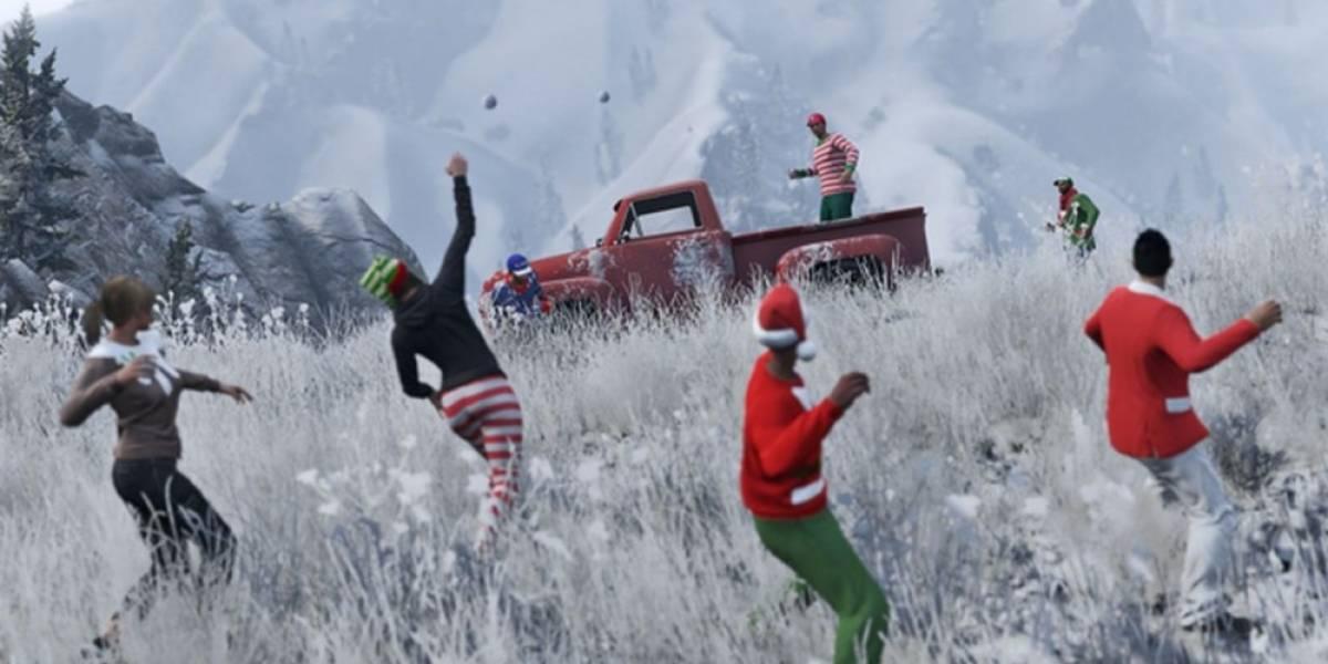 Rockstar extiende el período para el contenido Navideño en GTA Online