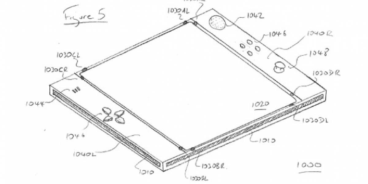 Sony patenta un híbrido entre tablet y control de PS3