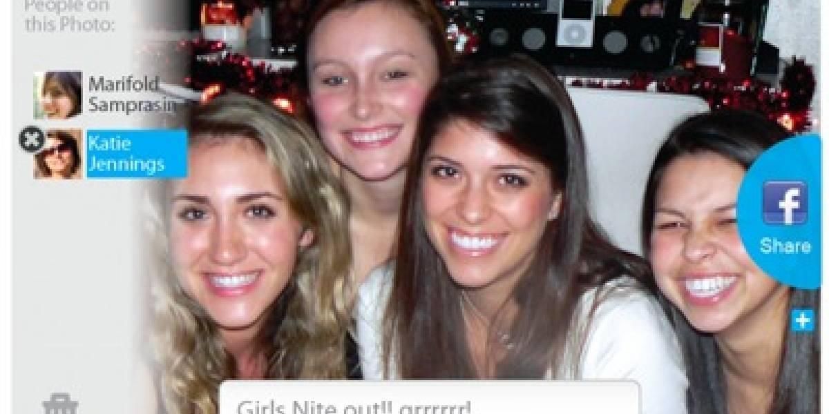 App de reconocimiento facial taggea a los amigos automáticamente