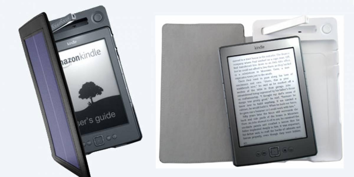 CES 2012: Llega SolarKindle, una carcasa para recargar el Kindle con energía solar