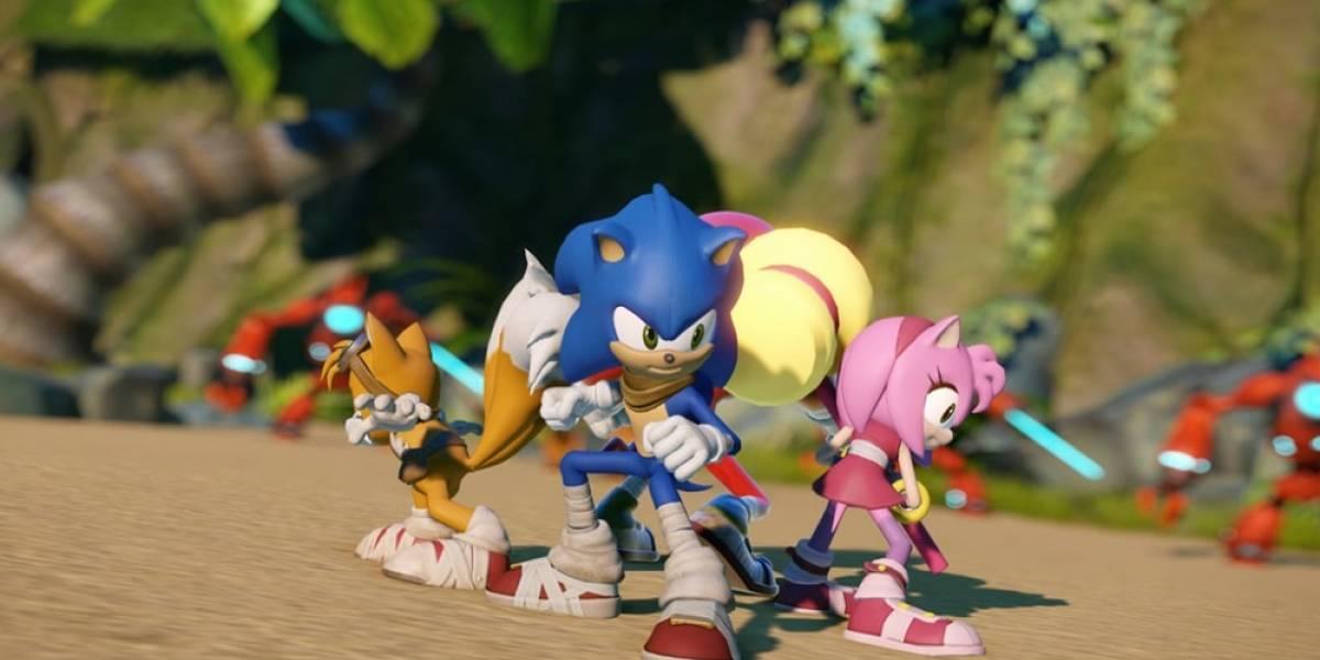 Un solo tráiler para los nuevos juegos de Sonic Boom