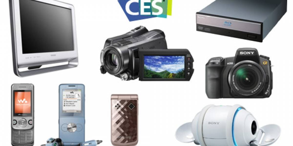 CES 2008: Sony tira todo a la parrilla