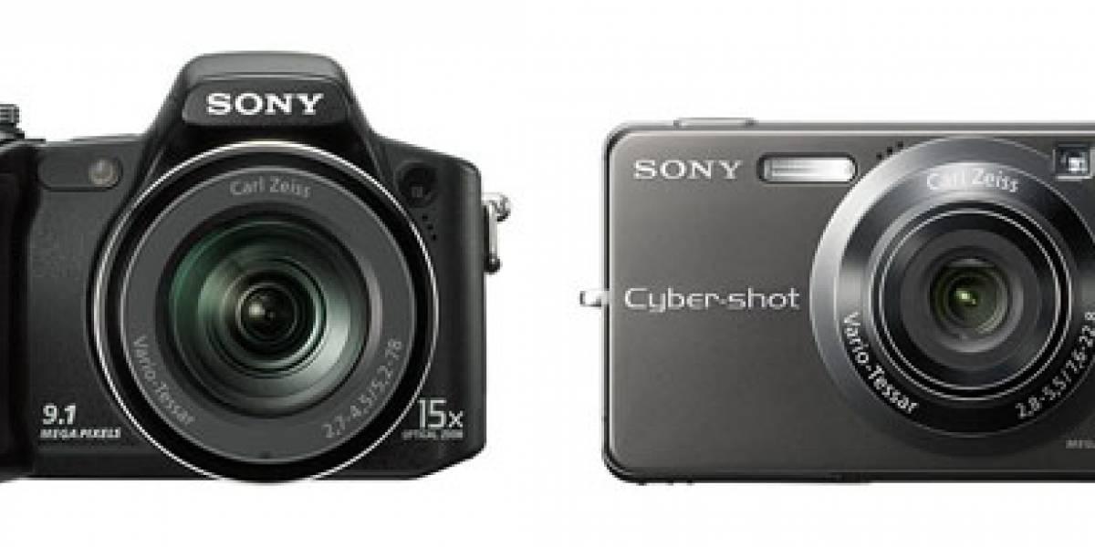 Sony presenta sus nuevas Cyber-shot: DSC-H50 y DSC-W300
