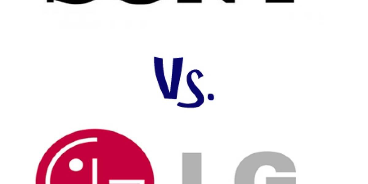 """Sony demanda a LG por """"violación de patentes"""""""
