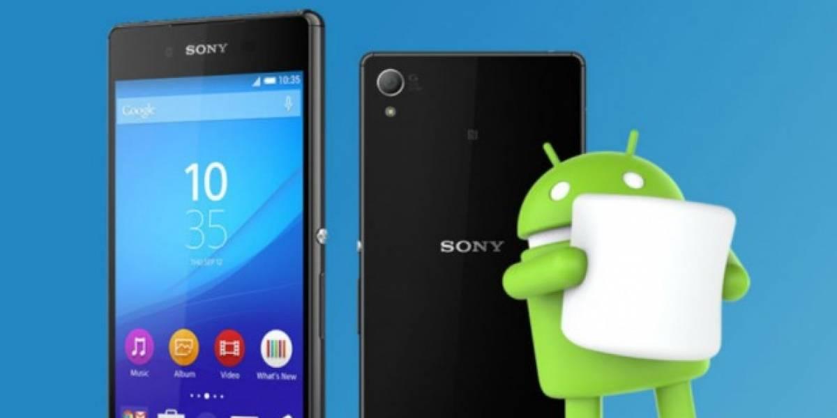 Sony muestra cómo se verá Android 6.0 Marshmallow en sus Xperia