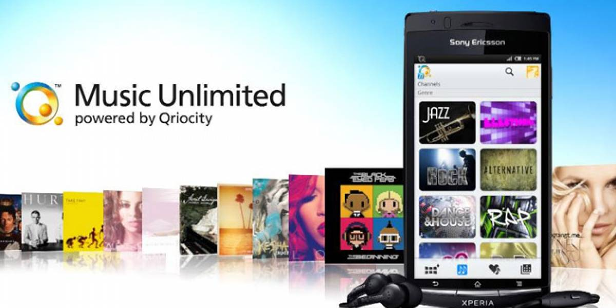 Music Unlimited de Sony llega a los Android