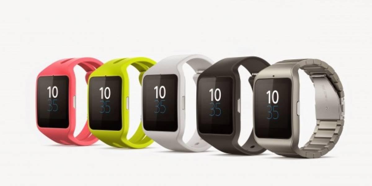 Sony Smartwatch 3 abre su distribución en México