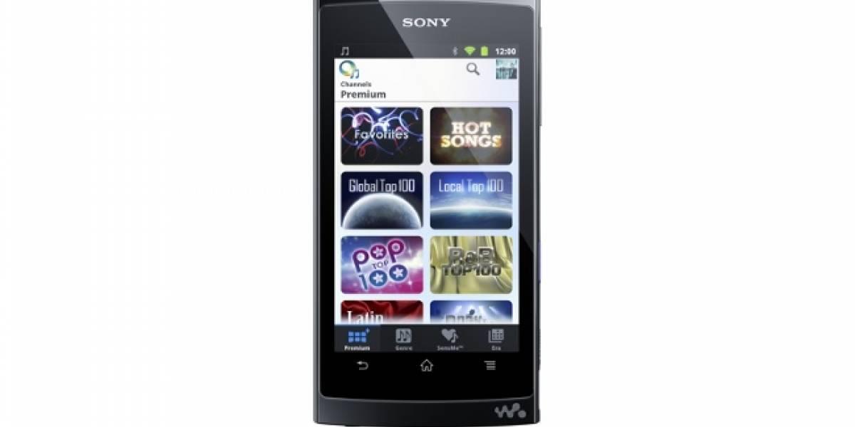 CES 2012: Sony lanza su Walkman Z1000 con Android