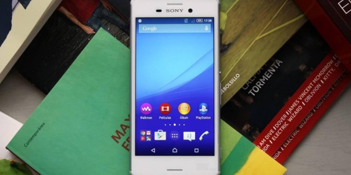 Sony Xperia M4 Aqua solo tiene 1.26GB de memoria libre