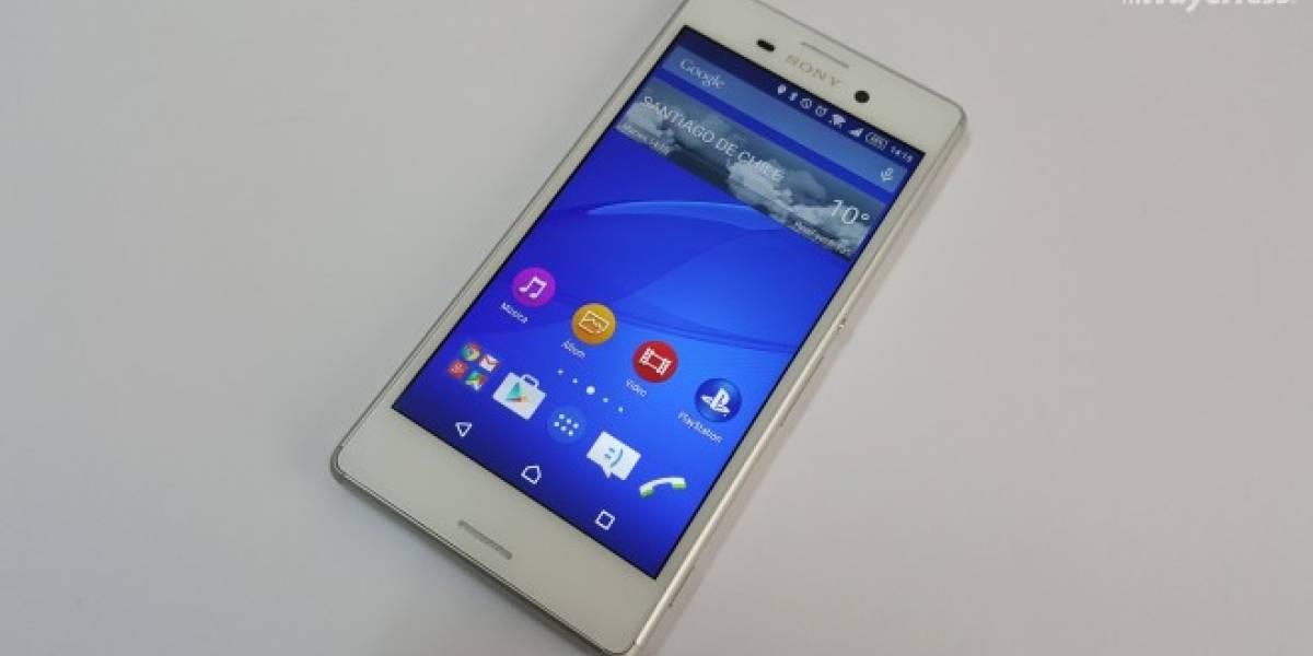 Sony Xperia M4 Aqua se actualizará directamente a Android 6.0 Marshmallow