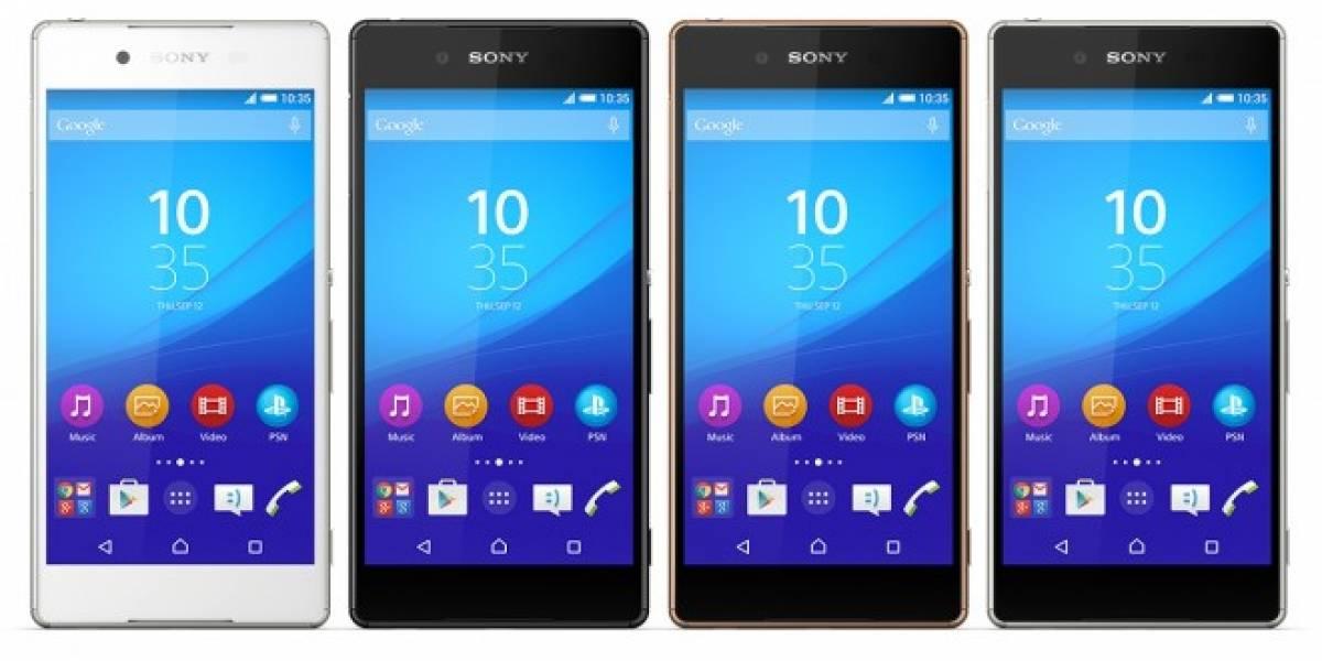 Conoce el Sony Xperia Z4 y enamórate de todas sus propiedades