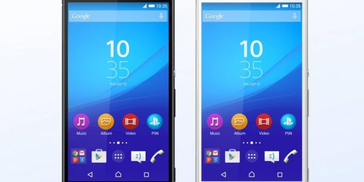 Sony Xperia Z4 se anuncia manteniendo diseño pero más potente