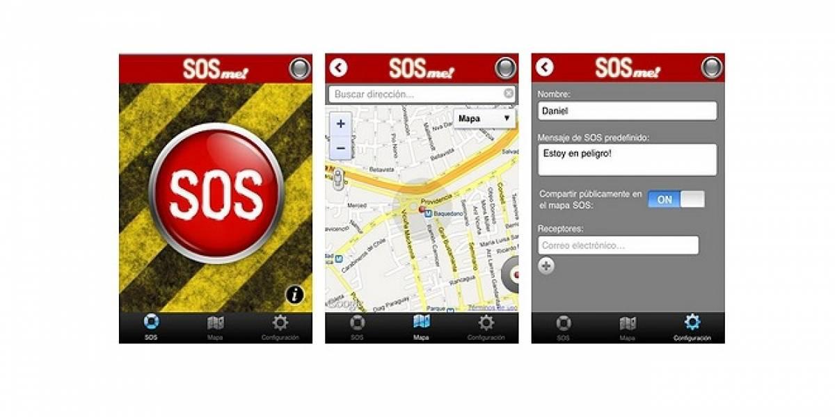 S.O.S Me!: En caso de emergencia, usa tu smartphone