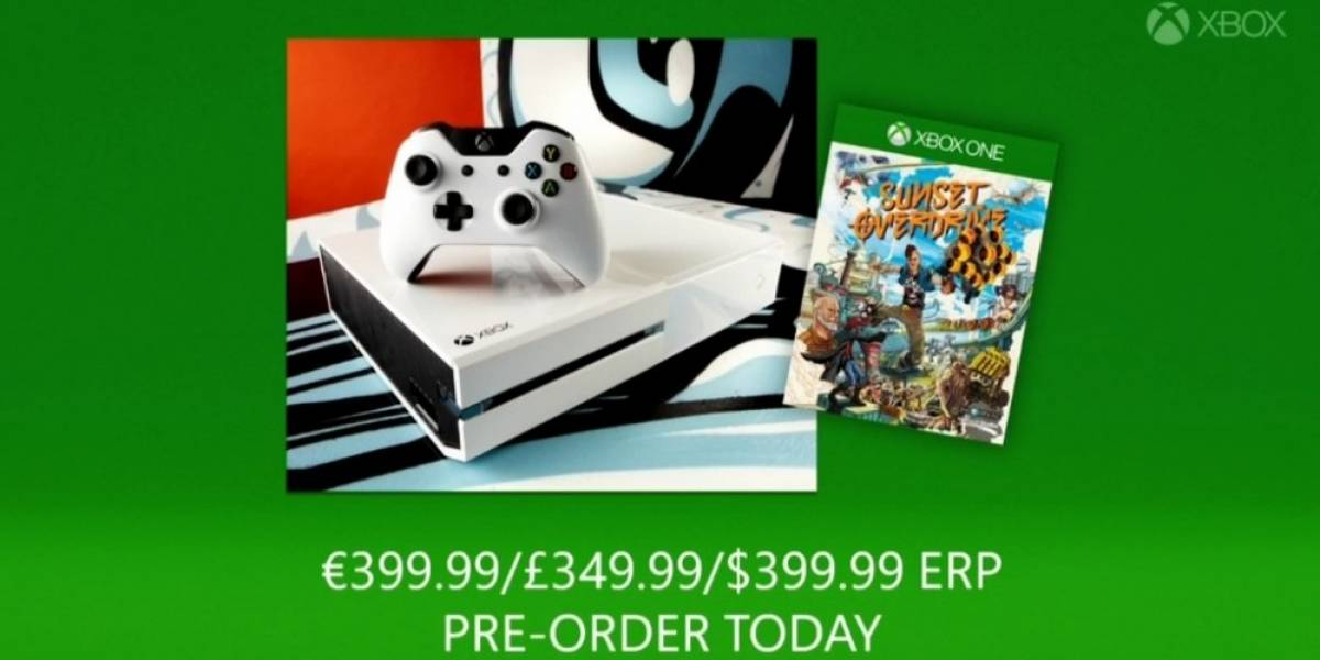 Sunset Overdrive tendrá bundle con consola blanca #gamescom2014