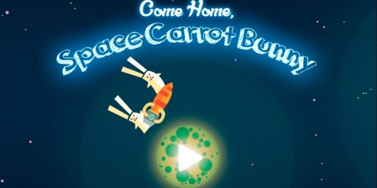 Juego chileno Come Home, Space Carrot Bunny llega a iOS y Android