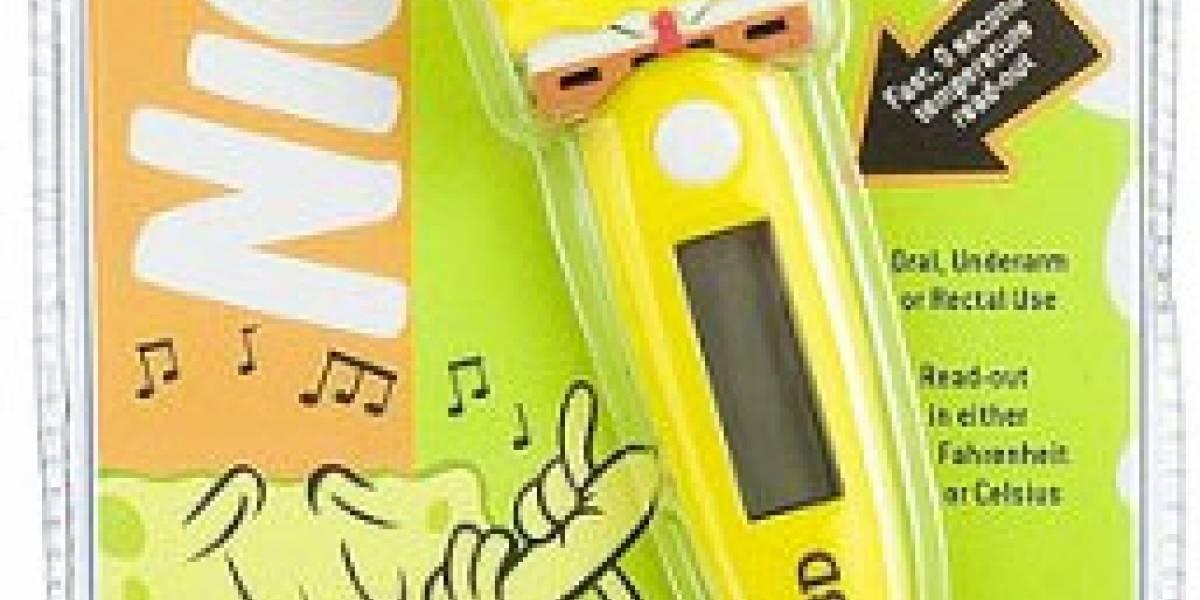 Impresentable: Termómetro rectal musical de Bob Esponja