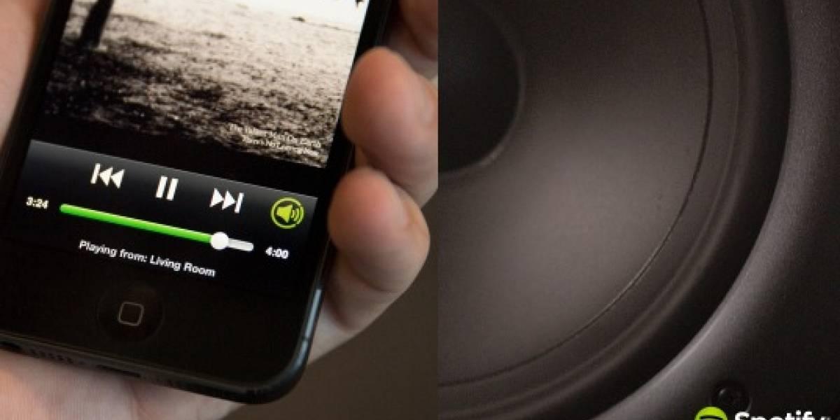 Spotify para Android ya comienza a funcionar con Chromecast