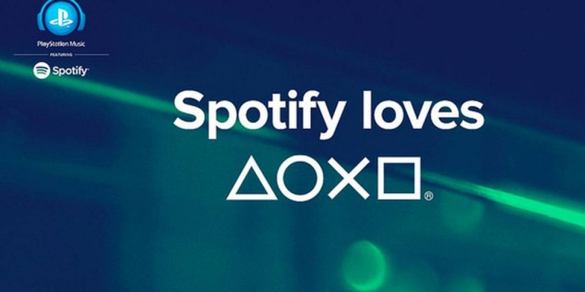 Sony anuncia acuerdo con Spotify para llevar música a PlayStation Network