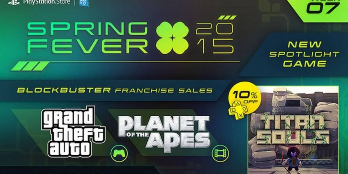 Séptima semana de la promoción Spring Fever en PlayStation Network