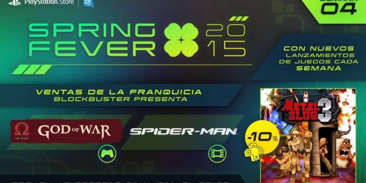 Cuarta semana de la promoción Spring Fever en PlayStation Network