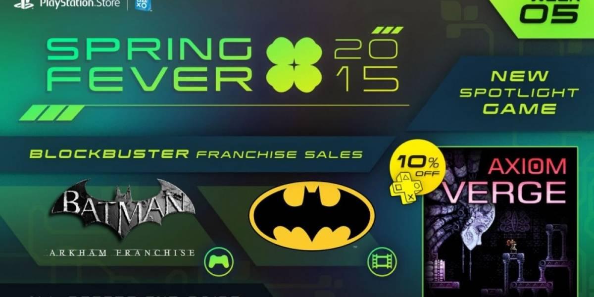 Quinta semana de la promoción Spring Fever en PlayStation Network