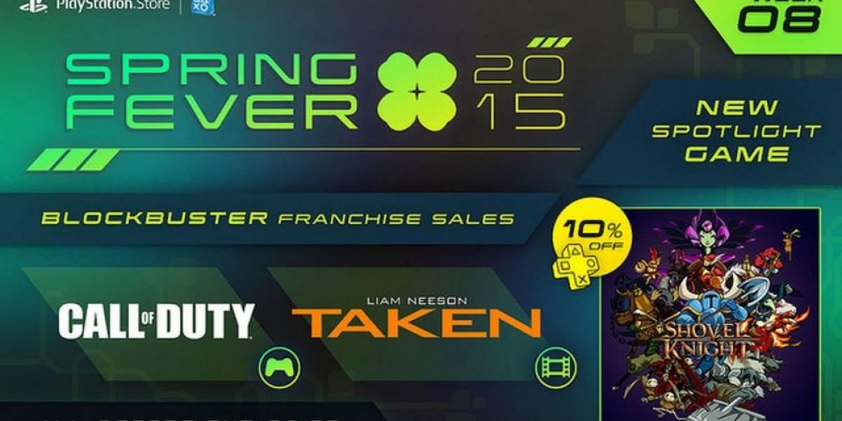 Octava semana de la promoción Spring Fever en PlayStation Network