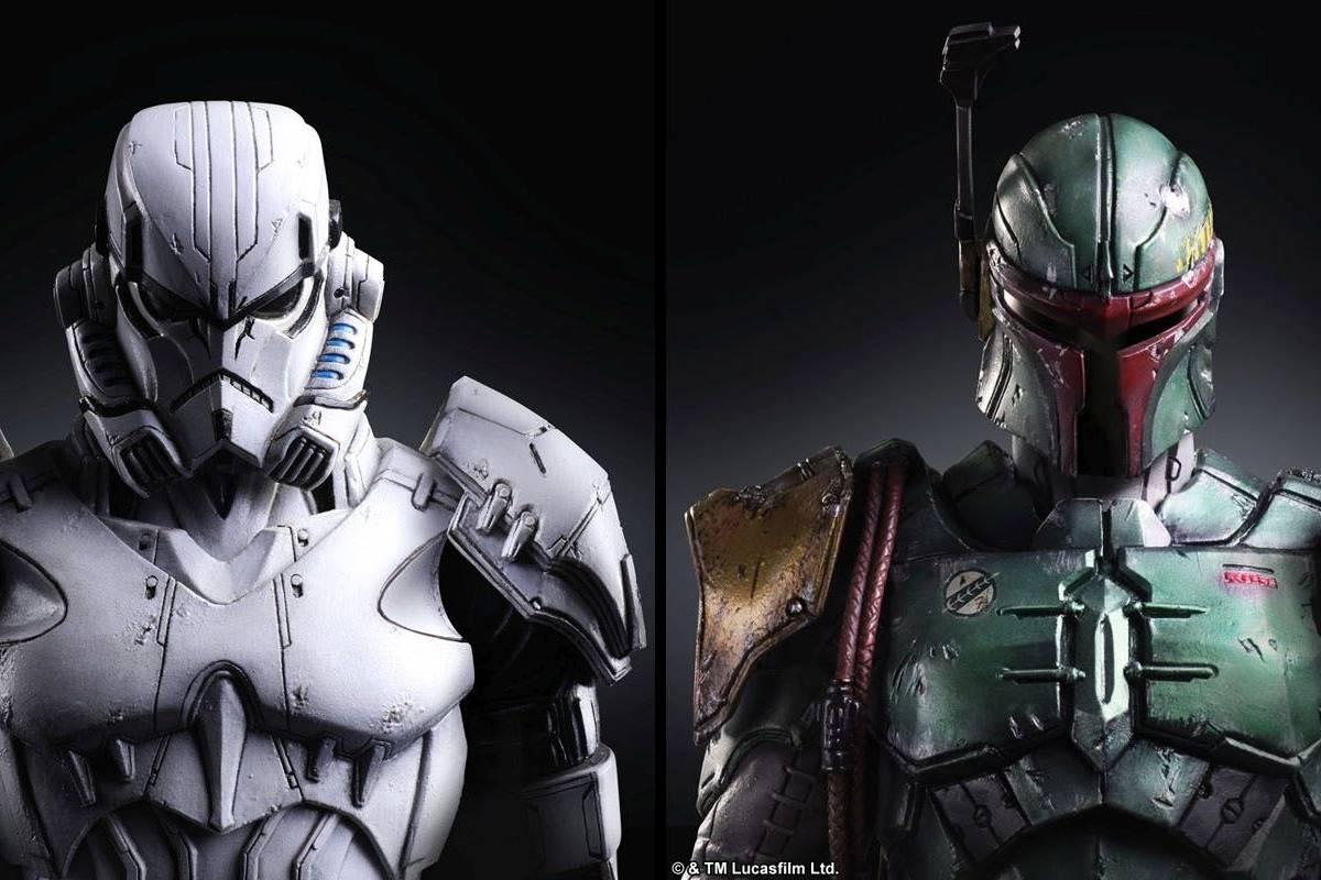 Square Enix presenta sus propias versiones de Boba Fett y los Stormtroopers de Star Wars