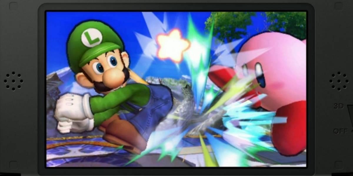 Bug en Super Smash Bros. para 3DS convierte a los personajes en gigantes