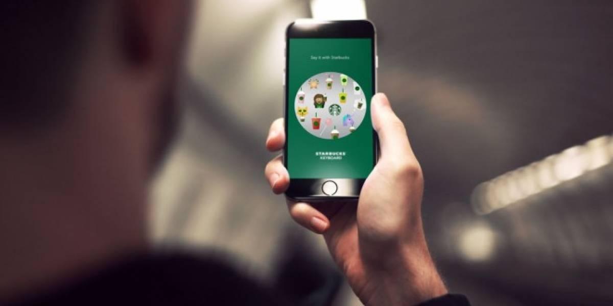Ya puedes enviar emojis de Starbucks en tu móvil