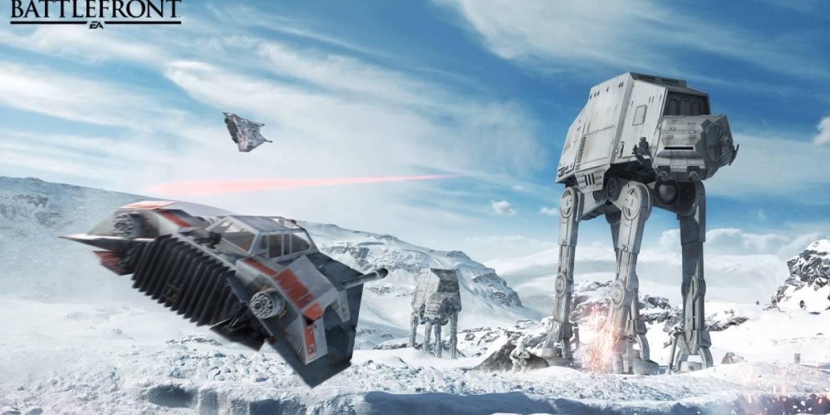 Mira el tráiler debut de Star Wars: Battlefront