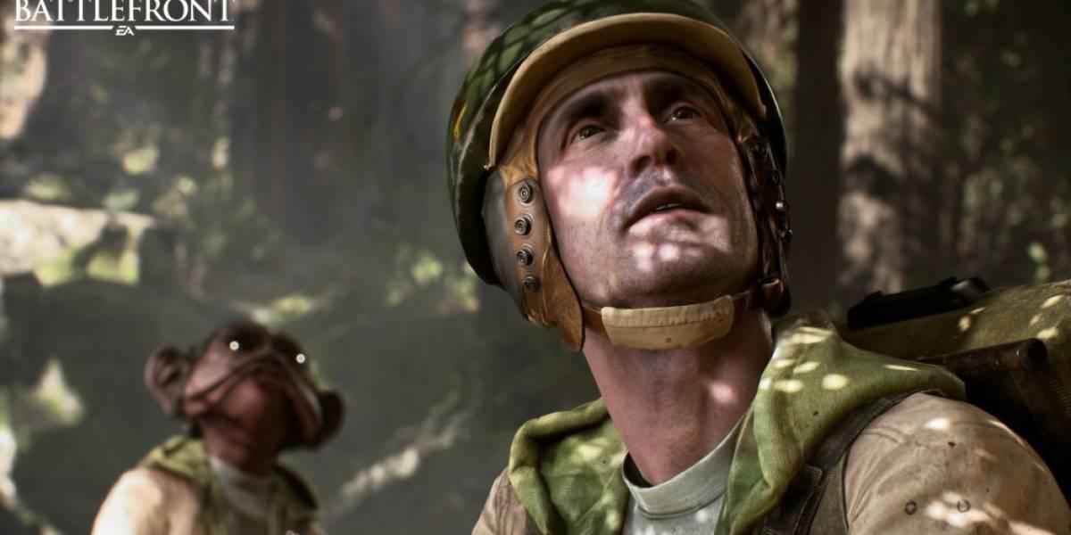 Star Wars: Battlefront se ve a 720p en Xbox One