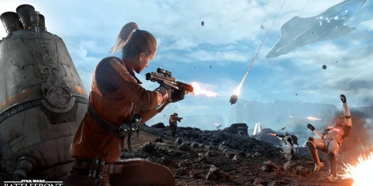 Star Wars Battlefront comienza su beta abierta el 8 de octubre