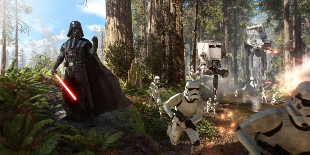 Star Wars: Battlefront se ve a 900p en PS4