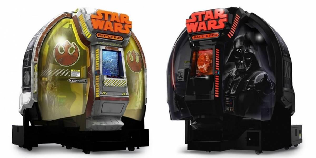 El arcade de Star Wars de Namco Bandai puede ser tuyo desde USD $35,000
