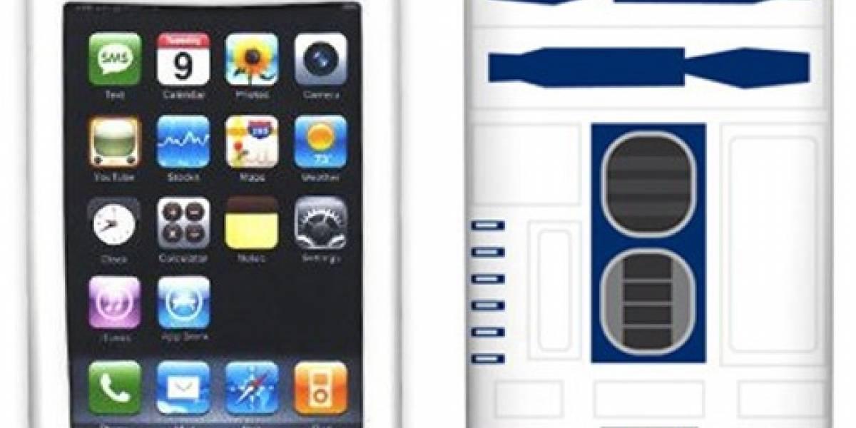 Funda convierte al iPhone en un R2-D2
