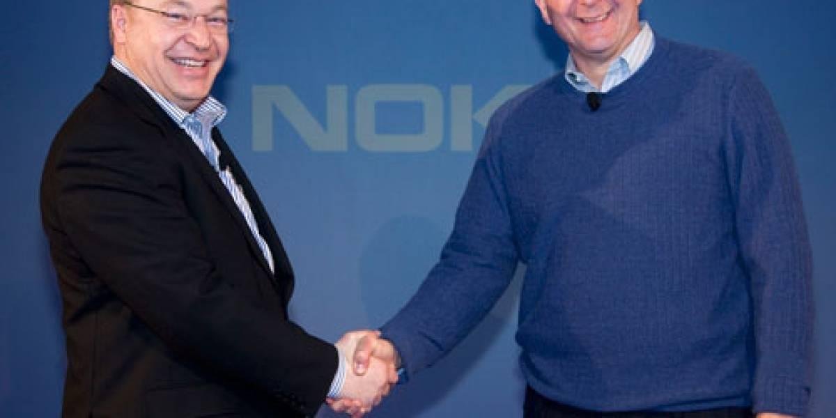 Grupo de accionistas de Nokia se lanza en picada contra su CEO