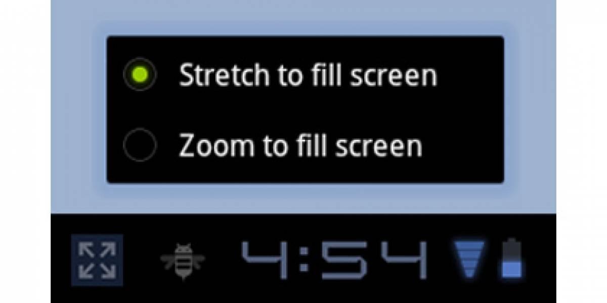 Android 3.2 obtendrá función 'zoom' para aplicaciones en tablet