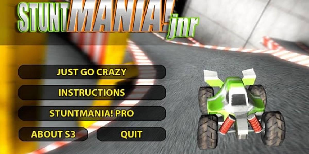A manejar autos locos con Stunt Mania Pro