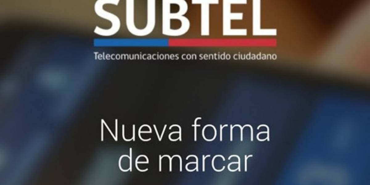 Subtel lanzó aplicación que actualiza tus contactos a la nueva forma de marcar