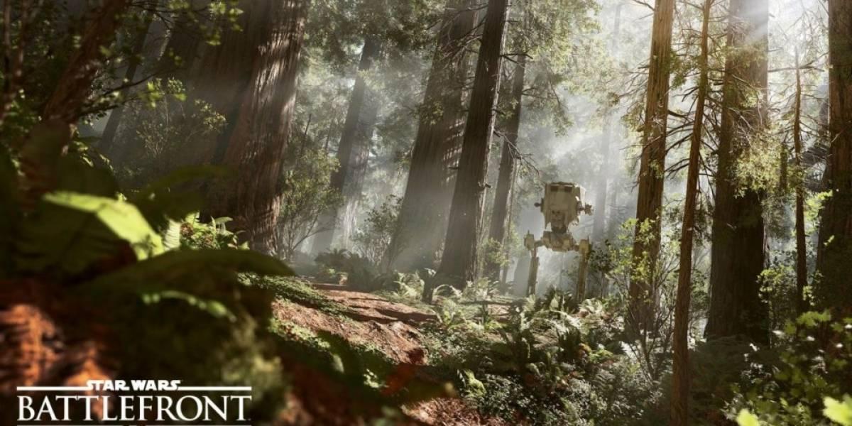 Se confirma que podremos controlar AT-STs en Star Wars: Battlefront