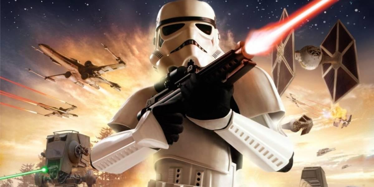 Llegan a la red más videos del cancelado Star Wars: Battlefront III