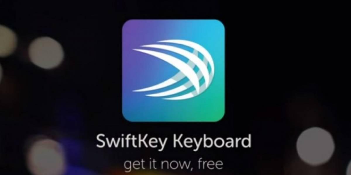 Beta del nuevo teclado de SwiftKey ofrece predicción de dos palabras