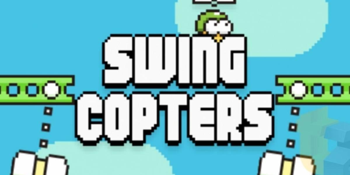 Swing Copters es el próximo videojuego del creador de Flappy Bird