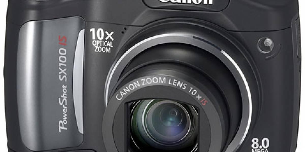 Canon SX100 IS: Mucho zoom por poca plata