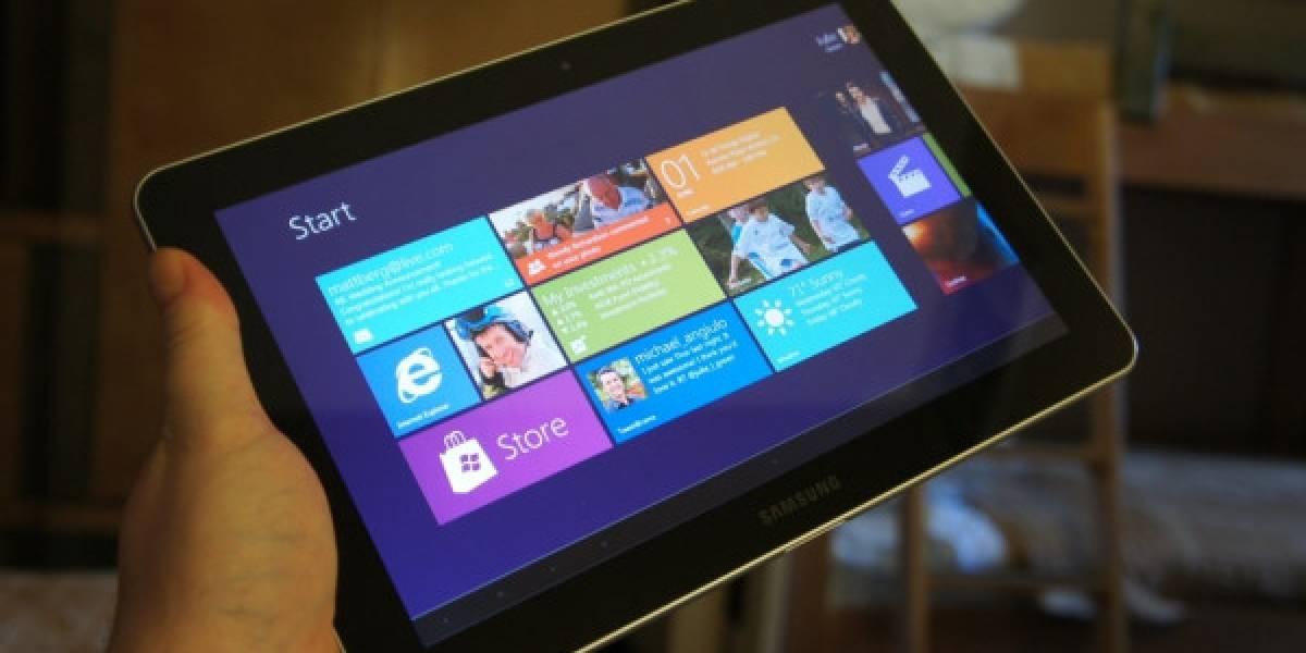 Tabletas con Windows 8 podrían no bajar de los USD$600