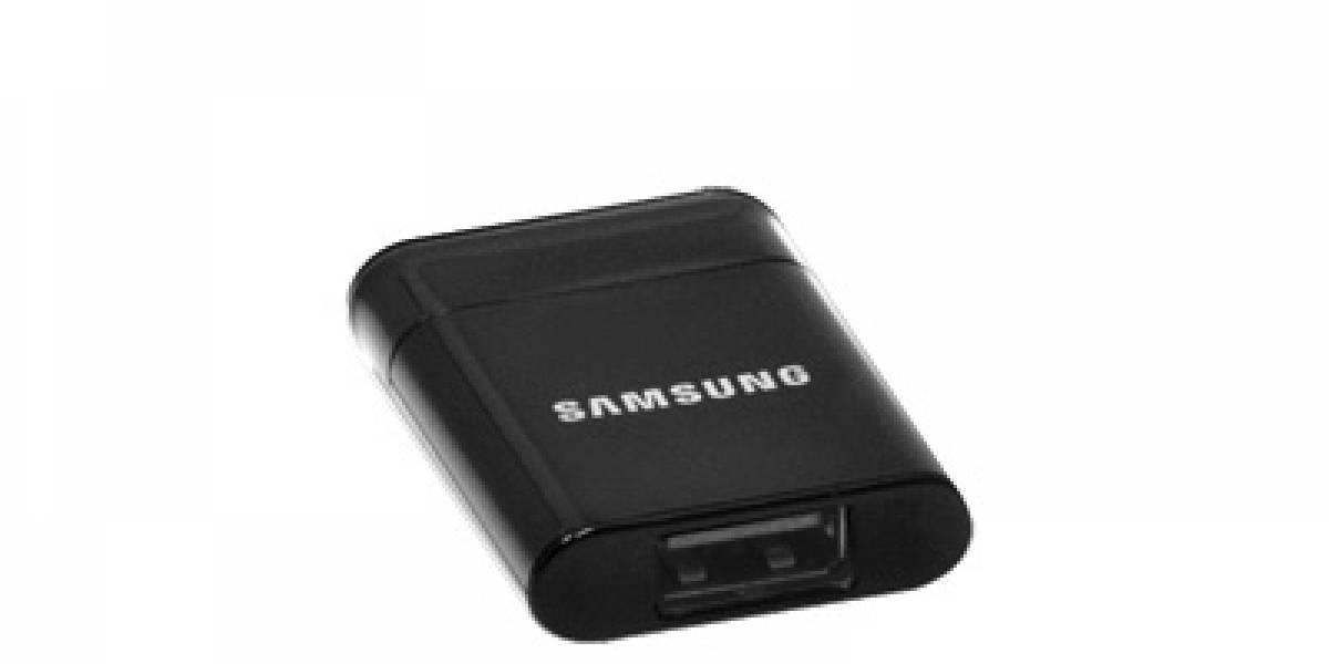 Samsung anuncia adaptador de USB para su Galaxy Tab 10.1