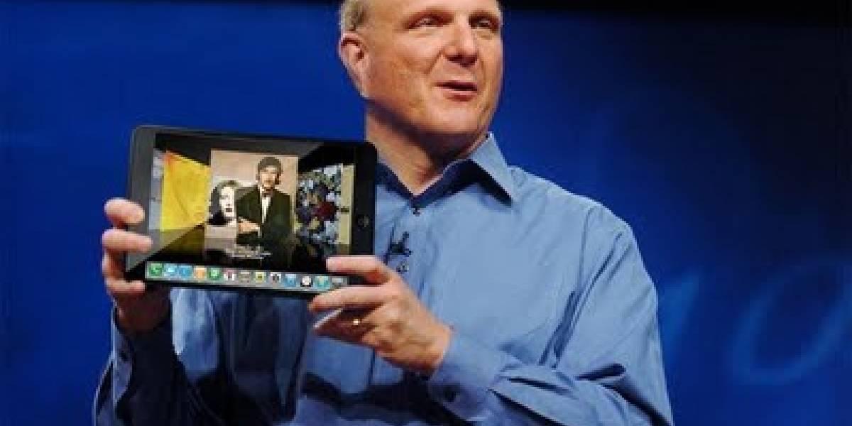 Futurología: Microsoft mostrará Windows 8 para tablets en junio