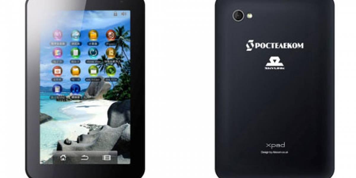 Primer tablet con soporte GLONASS lanzado en Rusia