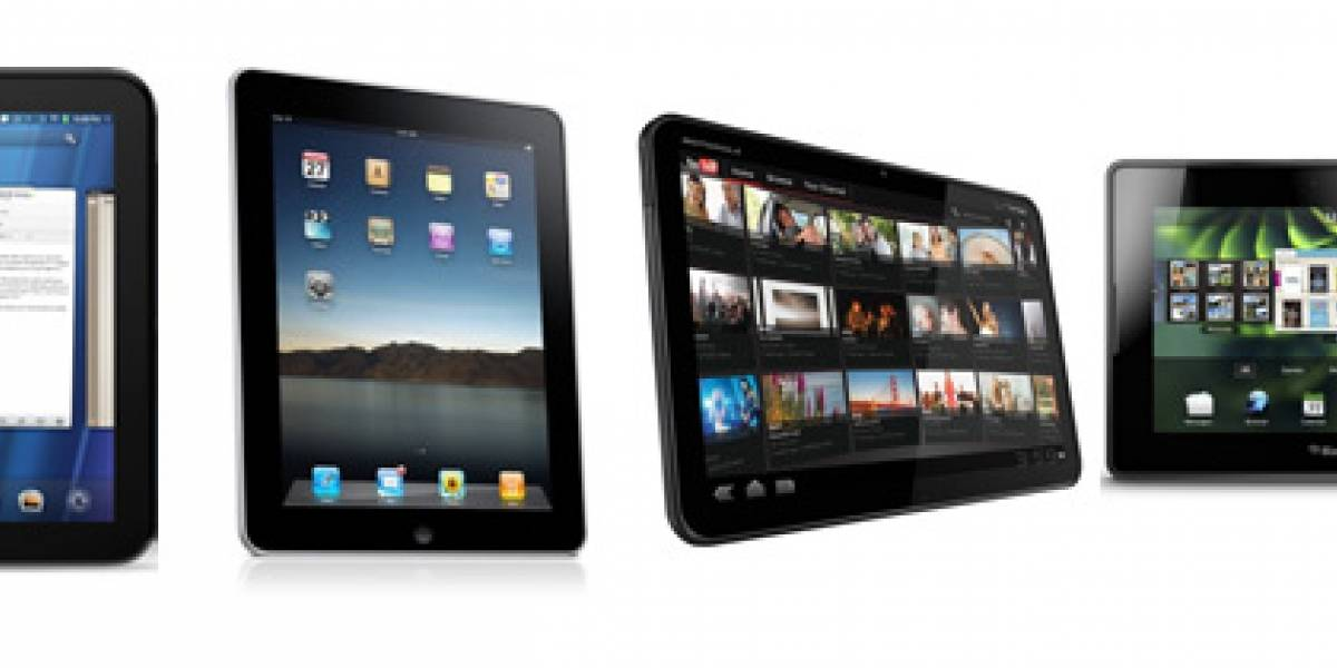 ¿HP TouchPad, iPad, Playbook o Xoom?: Comparación de especificaciones